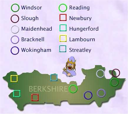 Berkshire Map