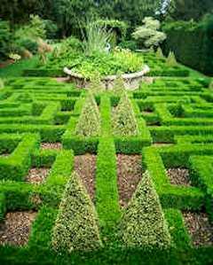 Bourton House Knot Garden