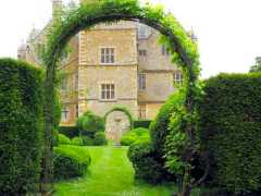 Arch at Chastleton House Garden