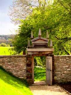 Hanham Court Gardens, Somerset