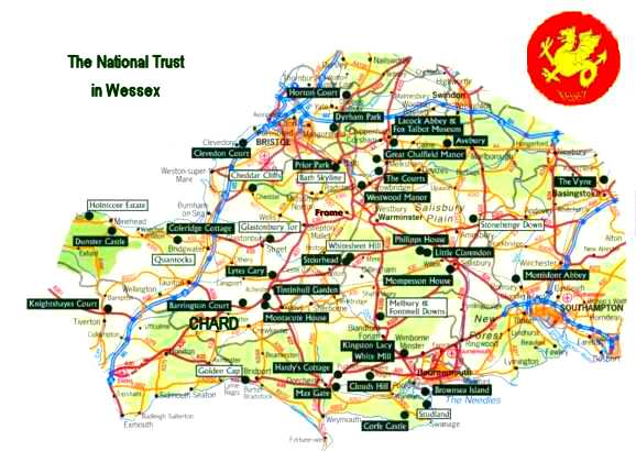 NATIONAL TRUST MAP