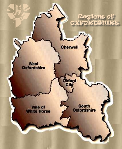 Regions of Oxfordshire