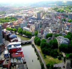 Bristol from the air