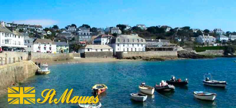 Harbour in St Mawes, Cornwall