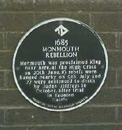 Monmouth plaque
