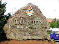 Taunton Sign