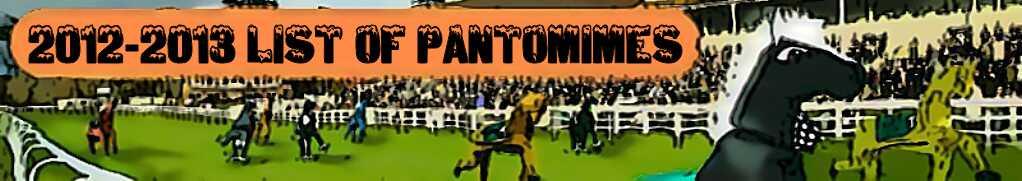 ITS PANTO TIME