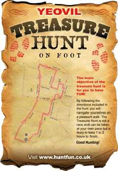 Yeovil Treasure Hunt