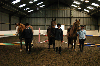 Runningwell Equestrian Indoor School