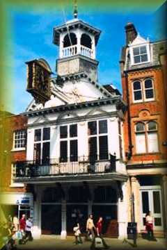 Guildford Guildhall & Clock